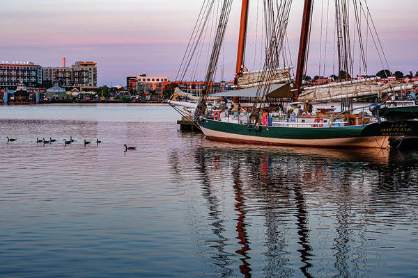 Wall Art - Photograph - Sunrise Over The Harbor by Jim Archer
