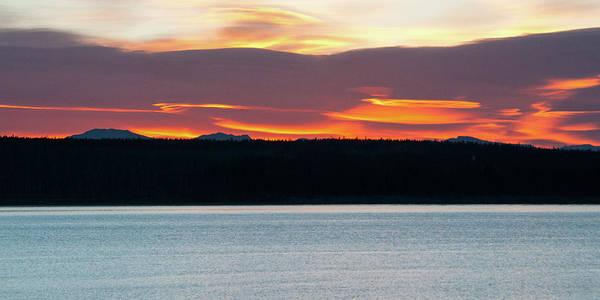 Photograph - Sunrise Over The Lake by Steve Stuller