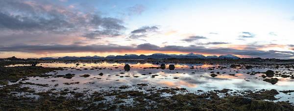 Sunrise Over The Marsh Art Print