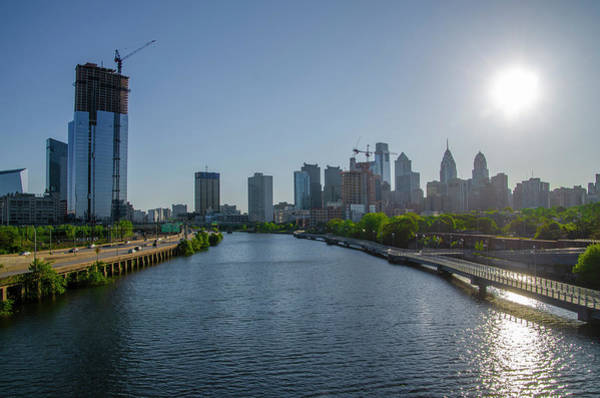 Wall Art - Photograph - Sunrise Over The Philadelphia Cityscape by Bill Cannon