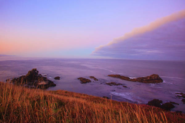 Dawn Photograph - Sunrise Over Yaquina Head by Craig Tuttle / Design Pics