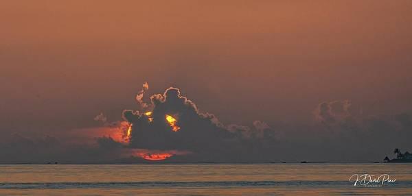 Photograph - Sunrise Peeking by David Pine