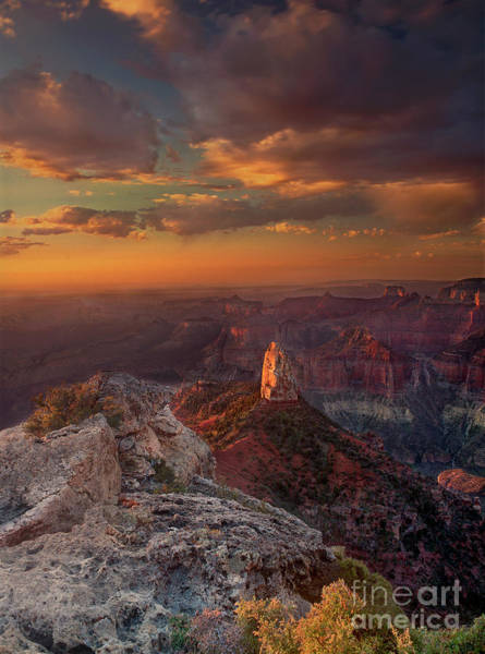 Photograph - Sunrise Point Imperial North Rim Grand Canyon National Park Arizona by Dave Welling