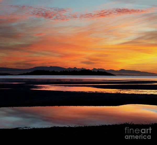 Wall Art - Photograph - Sunrise Rathtrevor Beach 3 by Bob Christopher
