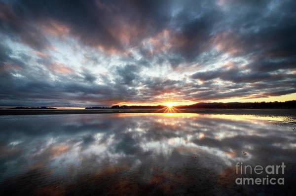 Wall Art - Photograph - Sunrise Rathtrevor Beach 7 by Bob Christopher