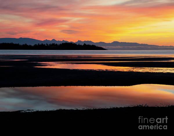 Wall Art - Photograph - Sunrise Rathtrevor Beach by Bob Christopher
