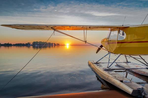 Photograph - Sunrise Seaplane by Gary McCormick
