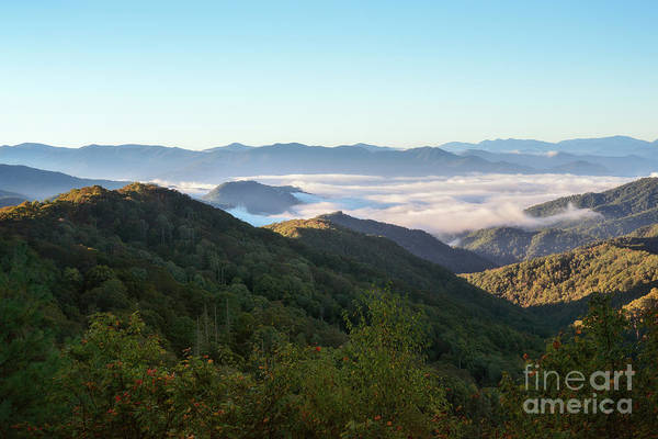 Photograph - Sunrise Smoky Mountains by Sharon Seaward