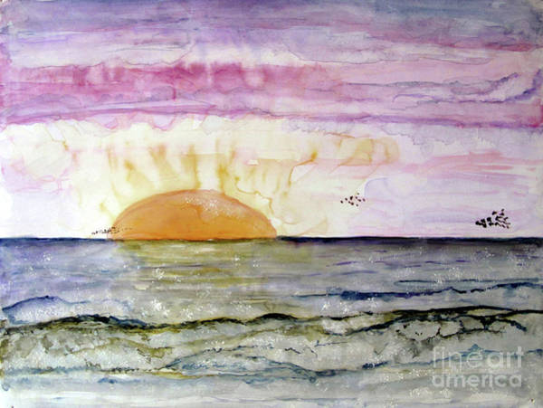 Painting - Sunrise Sunset by Sandy McIntire