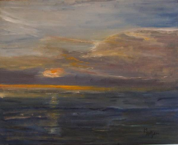 Painting - Sunrise Surprise by Michael Helfen