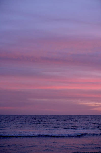 Vacation Time Photograph - Sunset Above The Ocean, Tarifa by Arne Pastoor / Stock4b