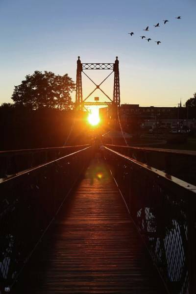 Photograph - Sunset Alignment by John Meader
