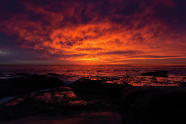 Photograph - Sunset Aliso Beach by Kyle Hanson