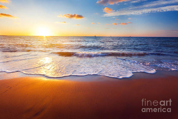 Wall Art - Photograph - Sunset And Beach by Ozerov Alexander