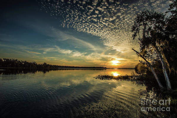 Wall Art - Photograph - Sunset And Clouds by Rick Mann