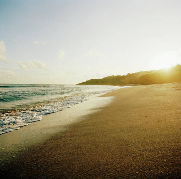 Greater Antilles Photograph - Sunset At A Beach Of Petit-goave, Haiti by Cultura Exclusive/philip Lee Harvey