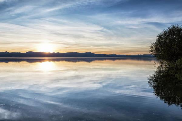 Photograph - Sunset At Agency Lake, No. 2 by Belinda Greb