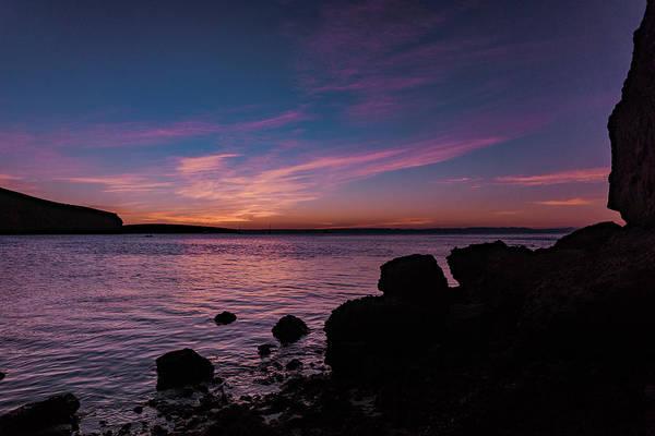 Photograph - sunset at Balandra beach by Silvia Marcoschamer