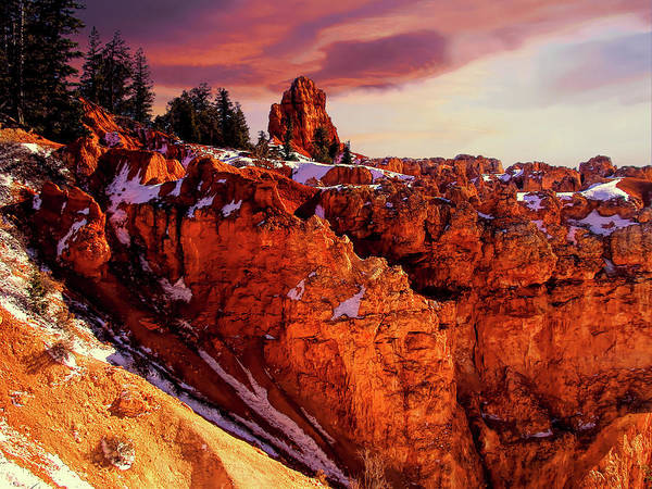 Wall Art - Photograph - Sunset At Bryce by Paul Coco