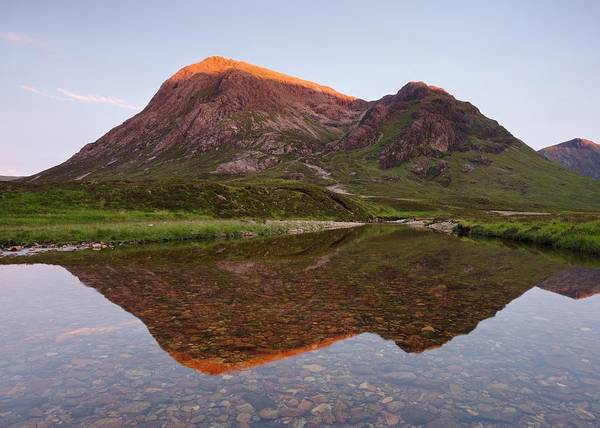 Photograph - Sunset At Buachaille Etive Mor by Stephen Taylor