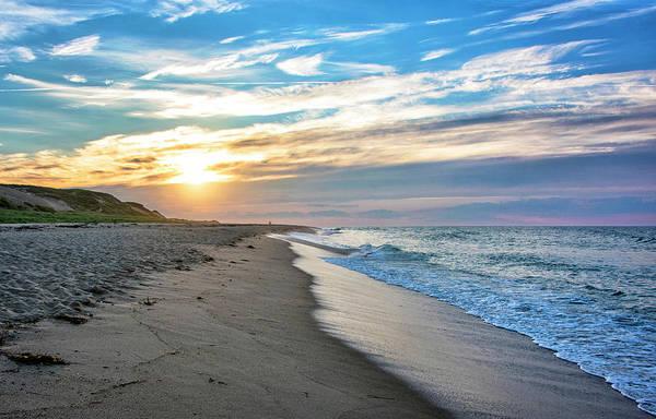 Wall Art - Photograph - Sunset At Cape Cod National Seashore by Brendan Reals
