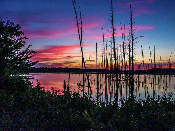 Photograph - Sunset At Frankin Parker by Louis Dallara