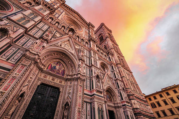 Photograph - Sunset At Il Duomo Di Firenze by ProPeak Photography