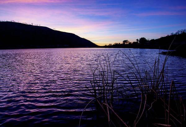 Photograph - Sunset At Lake Cuyamaca by Anthony Jones