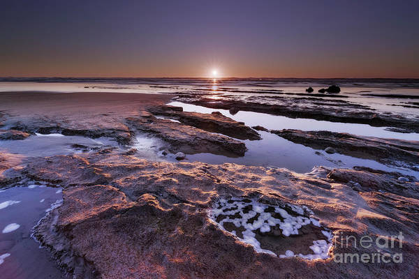 Wall Art - Photograph - Sunset At Ona Beach  by Masako Metz