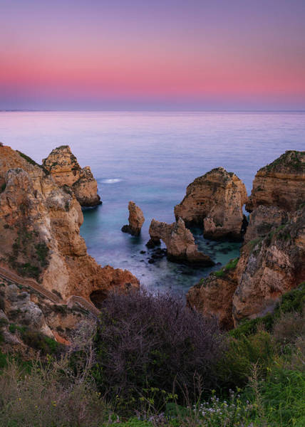 Photograph - Sunset At Ponta Da Piedade by Michael Blanchette