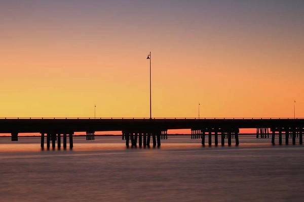 Photograph - Sunset At Punta Gorda by Paul Schultz