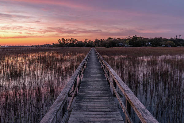 Wall Art - Photograph - Sunset At Remley's Pointe by Drew Castelhano