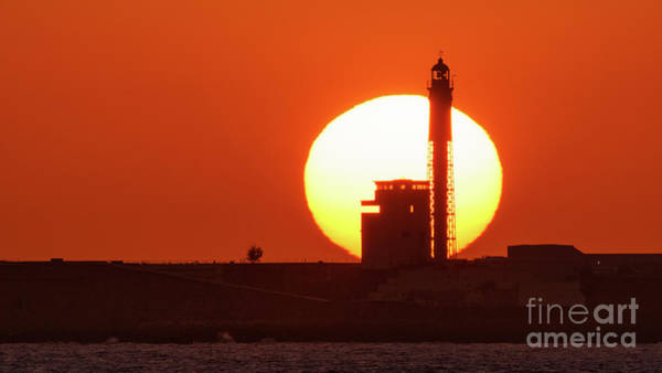 Photograph - Sunset At Saint Sebastian Lighthouse by Pablo Avanzini