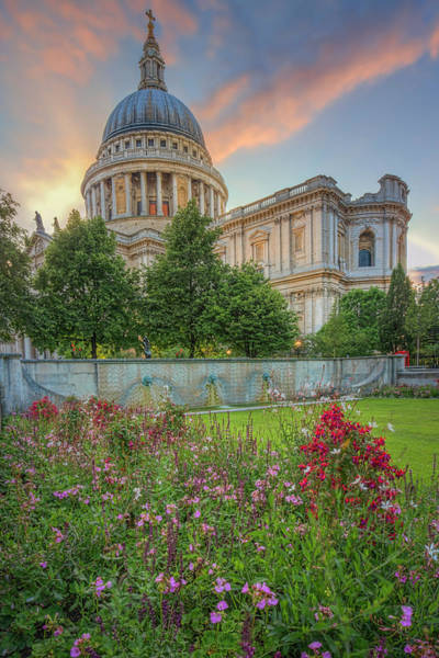 Photograph - Sunset At St. Paul's by Thomas Gaitley