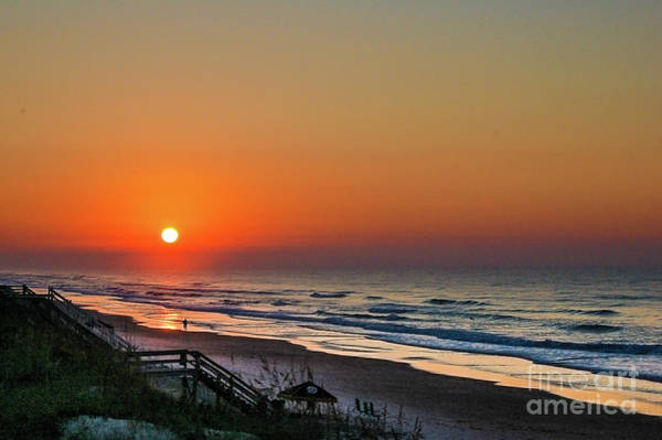 Photograph - Sunset At Surf City Nc by Flippin Sweet Gear