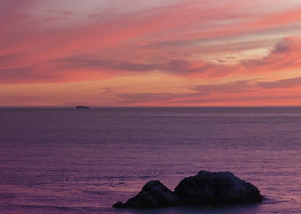 Wall Art - Photograph - Sunset At Sutro Baths 3 by Tran Boelsterli
