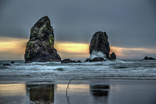 Photograph - Sunset At The Canon Beach by Dimitry Papkov