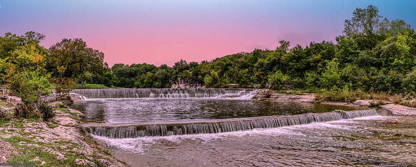 Photograph - Sunset At The Falls by Gaylon Yancy