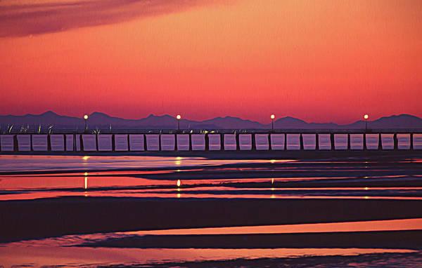 Photograph - Sunset At Whiterock by Darrel Giesbrecht