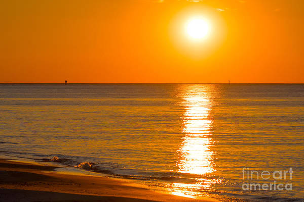 Photograph - Sunset Beach Island by James Hennis