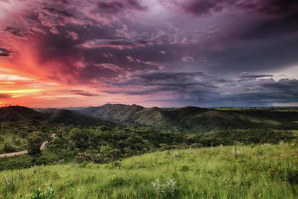 Minas Gerais Wall Art - Photograph - Sunset Bocaina Hills Pôr-do-sol Serra by Wildlife From Brazil