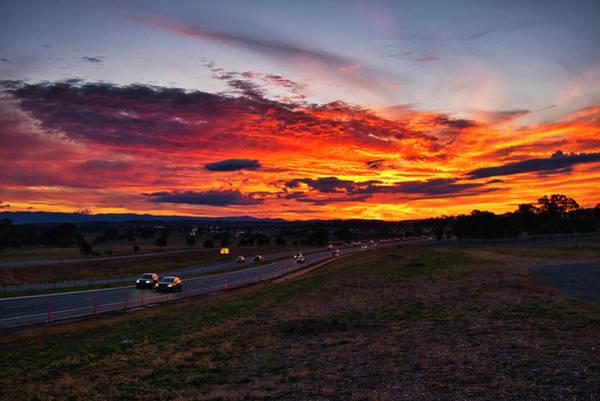 Photograph - Sunset - Canberra - Australia by Steven Ralser