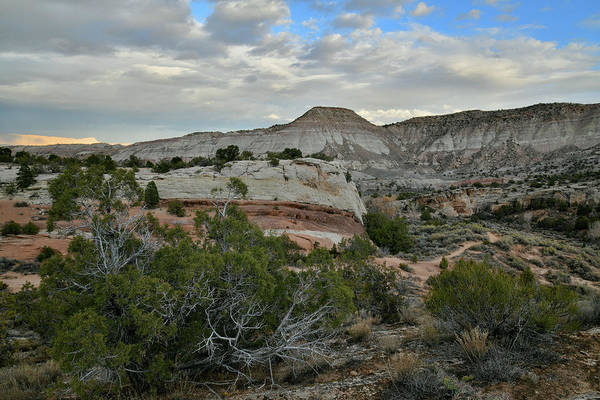 Photograph - Sunset Clouds Over East End Of Colorado National Monument by Ray Mathis