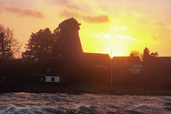 Photograph - Sunset Coast Mill by Kim Lessel
