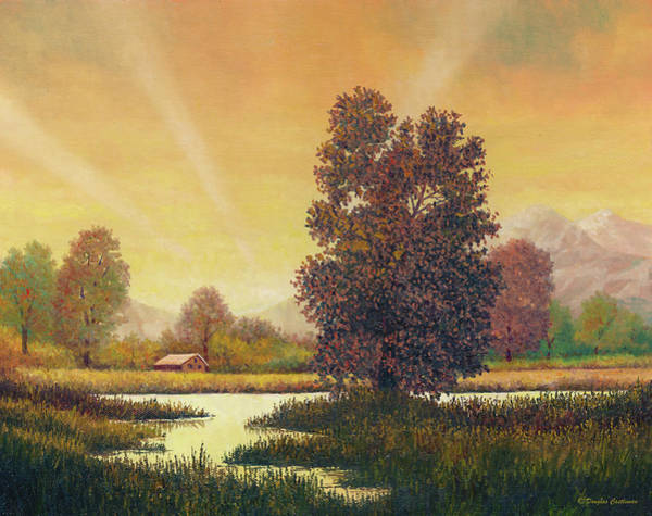 Painting - Sunset Color by Douglas Castleman