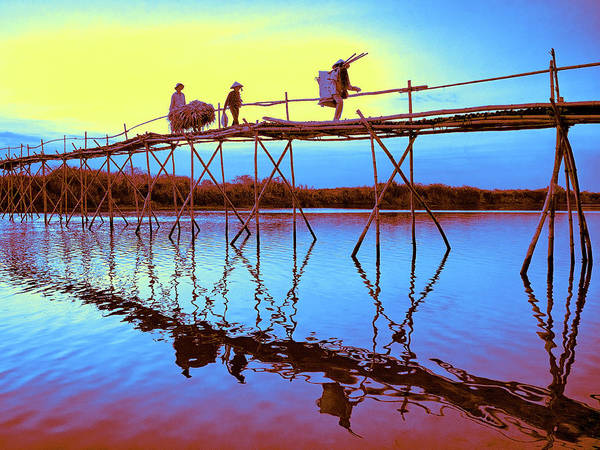 Photograph - Sunset Crossing by Dominic Piperata
