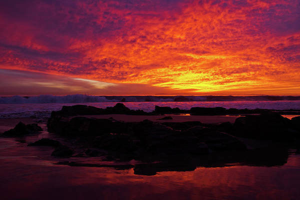 Photograph - Sunset Crystal Cove by Kyle Hanson