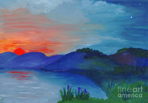 Painting - Sunset by Irina Dobrotsvet
