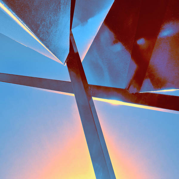 Wall Art - Photograph - Sunset Edge Rise Of Abstraction by William Dey