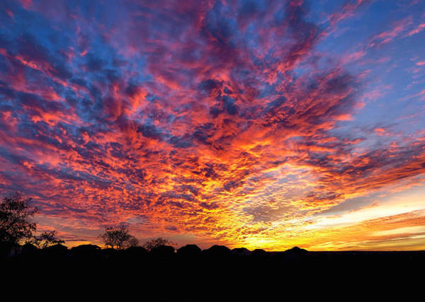 Wall Art - Photograph - Sunset Explosion by Stephen Anderson
